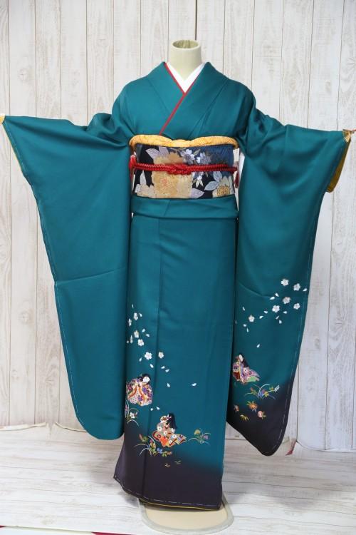 (着物レンタル)(振袖レンタル)(貸衣裳)(結婚式)(結納)(卒業式) D20 ¥20,000