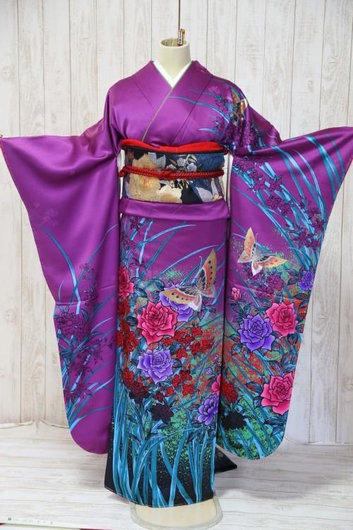 (着物レンタル)(振袖レンタル)(貸衣裳)(結婚式)(結納)(卒業式) C87 ¥20,000