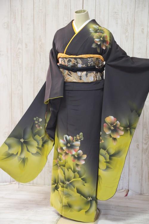(着物レンタル)(振袖レンタル)(貸衣裳)(結婚式)(結納)(卒業式) D26 ¥20,000
