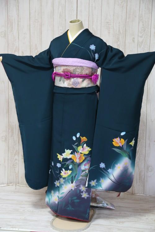 (着物レンタル)(振袖レンタル)(貸衣裳)(結婚式)(結納)(卒業式) F13 ¥20,000