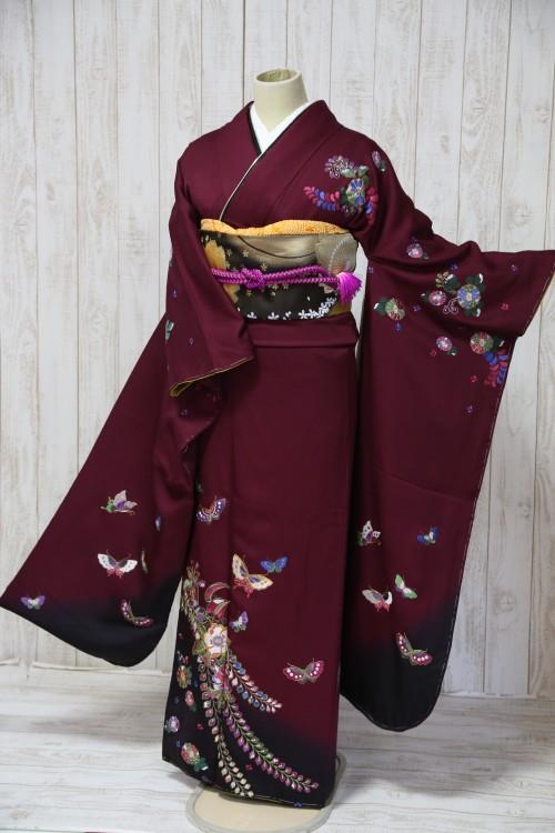 (着物レンタル)(振袖レンタル)(貸衣裳)(結婚式)(結納)(卒業式) E1 ¥20,000