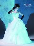 (花嫁衣裳)(ウェディングドレスレンタル)(貸衣裳)ウェディングドレス 570