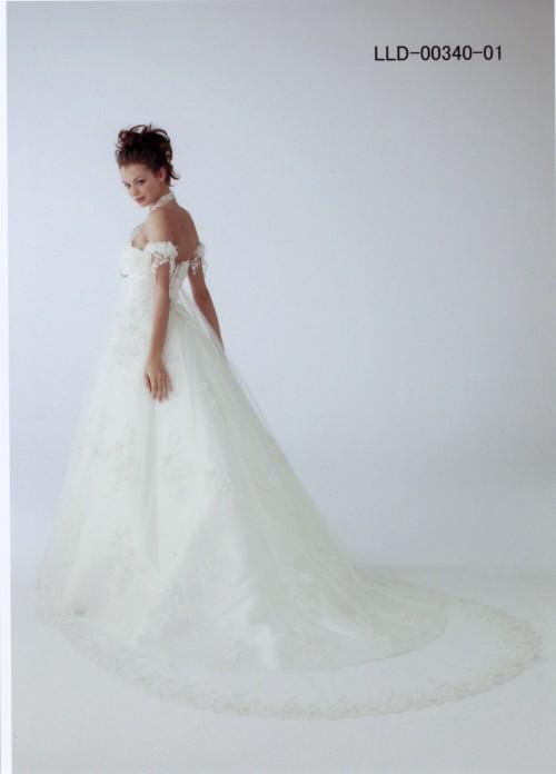(花嫁衣裳)(ウェディングドレスレンタル)(貸衣裳)ウェディングドレス 616