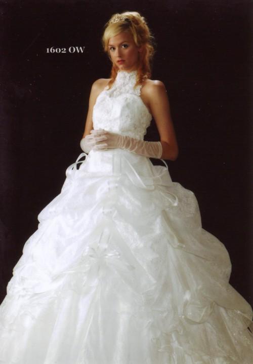 (花嫁衣裳)(ウェディングドレスレンタル)(貸衣裳)ウェディングドレス 569