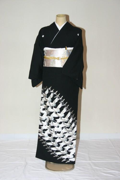 (着物レンタル)(留袖レンタル)(貸衣裳)留袖・化繊 B590