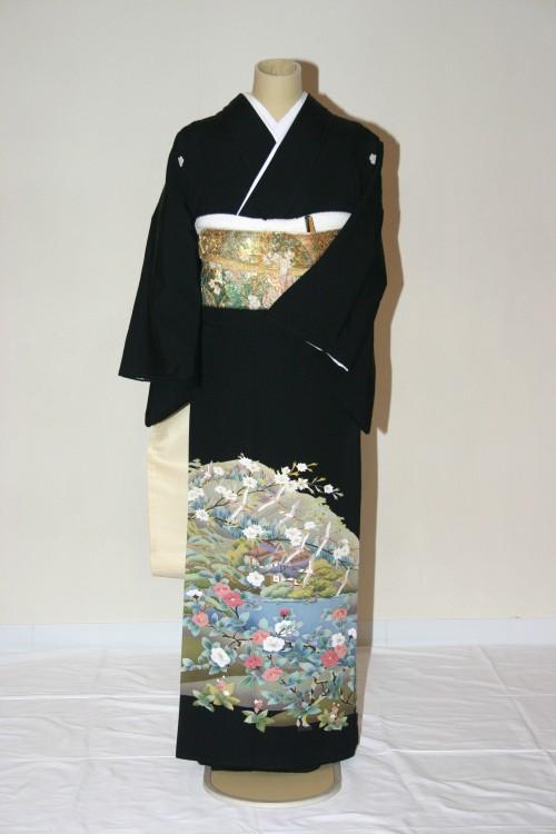 (着物レンタル)(留袖レンタル)(貸衣裳)留袖・正絹 特H87