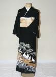 (着物レンタル)(留袖レンタル)(貸衣裳)留袖・正絹 特H107