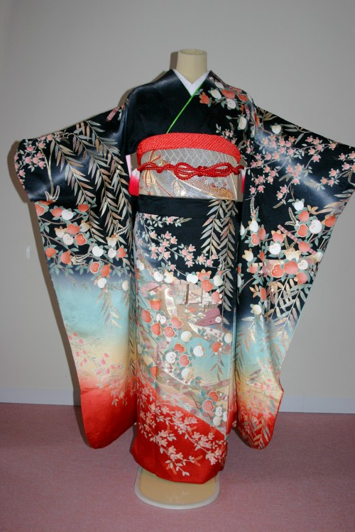 (着物レンタル)(振袖レンタル)(貸衣裳)(結婚式)(結納)(卒業式) 868 ¥20,000