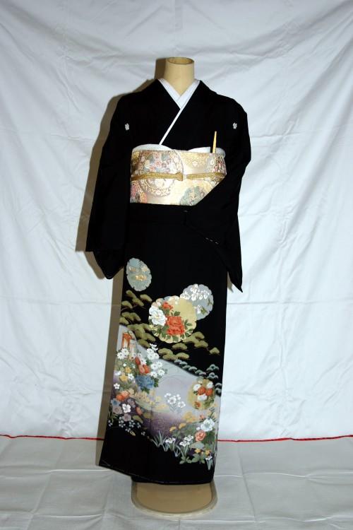 (着物レンタル)(留袖レンタル)(貸衣装)留袖・正絹 特H110