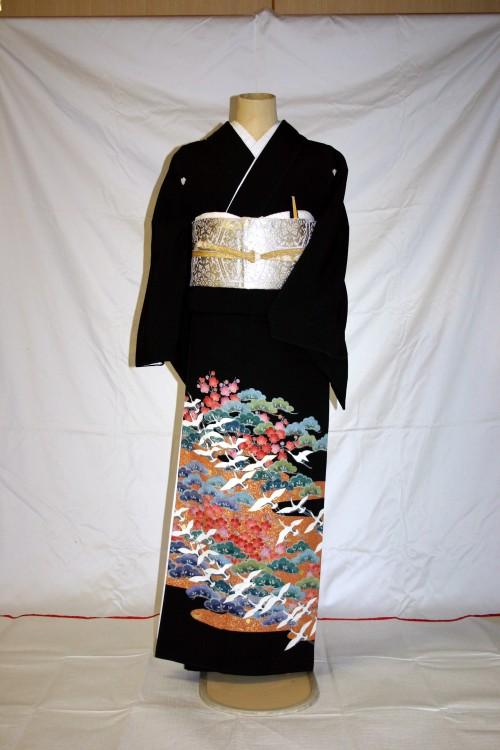 (着物レンタル)(留袖レンタル)(貸衣装)留袖・正絹 特H150
