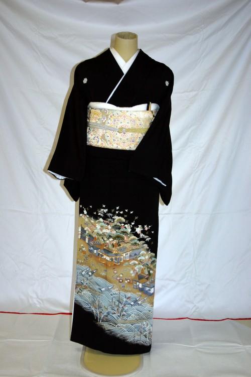 (着物レンタル)(留袖レンタル)(貸衣装)留袖・正絹 特H701