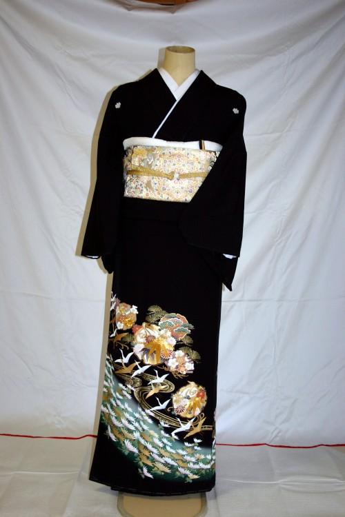 (着物レンタル)(留袖レンタル)(貸衣装)留袖・正絹 特H137 裄長