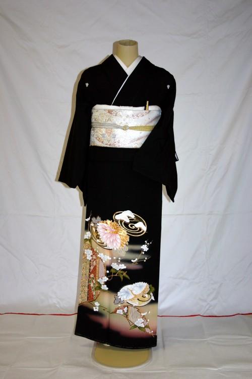 (着物レンタル)(留袖レンタル)(貸衣装)留袖・正絹 特H135