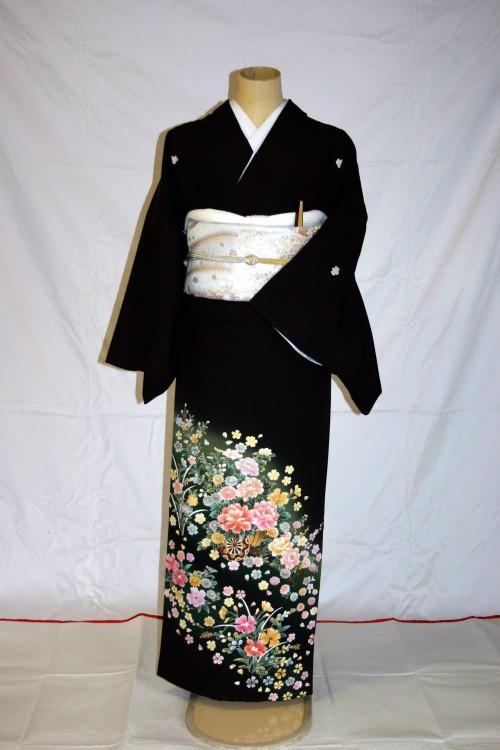 (着物レンタル)(留袖レンタル)(貸衣装)留袖・化繊 C15