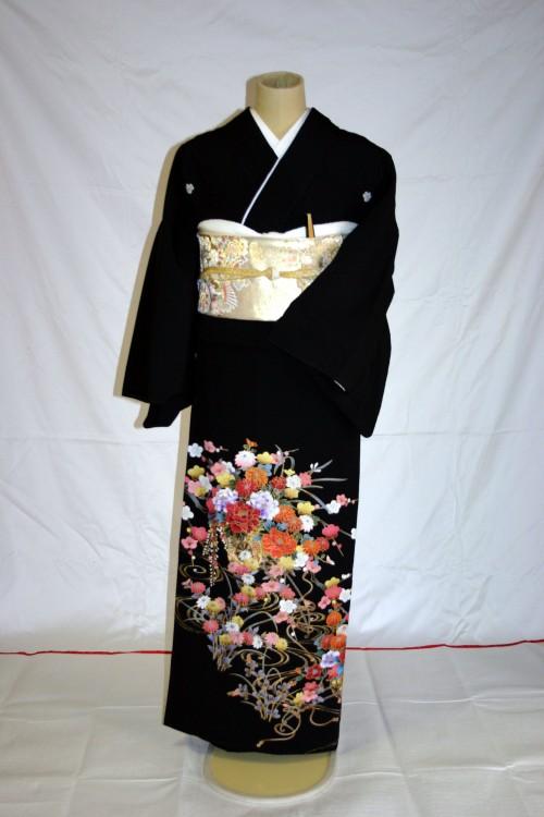 (着物レンタル)(留袖レンタル)(貸衣装)留袖・化繊 C26