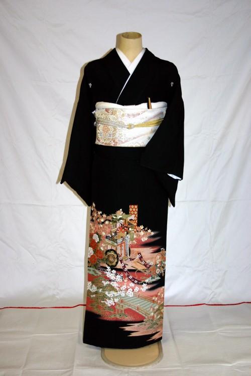 (着物レンタル)(留袖レンタル)(貸衣装)留袖・化繊 C1