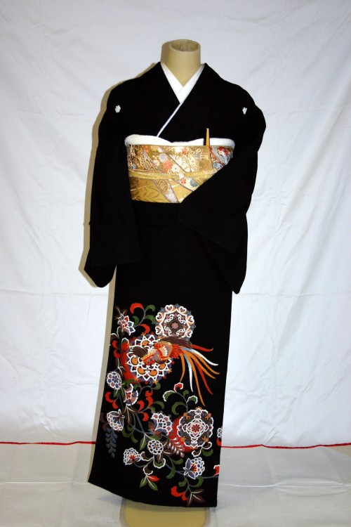 (着物レンタル)(留袖レンタル)(貸衣装)留袖・化繊 C22
