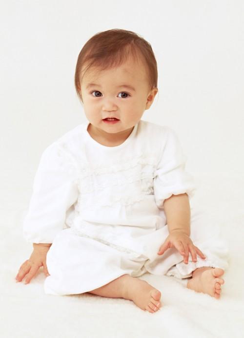 お宮参り 赤ちゃんイメージ画像